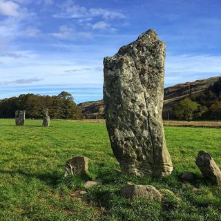 Nether Largie standing stone Kilmartin Glen