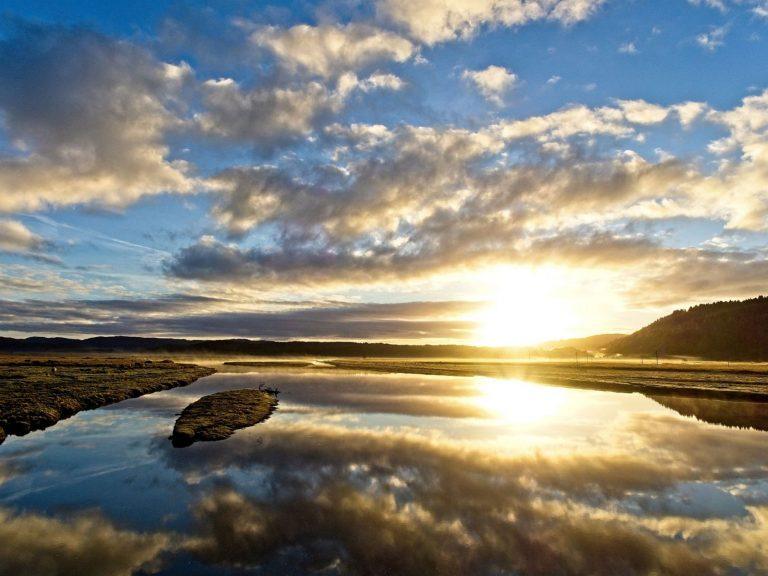 Sunset in Kilmartin Glen