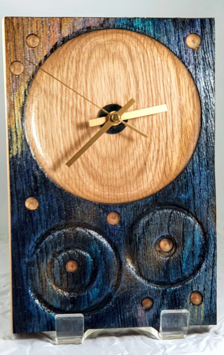 Rock Art Clocks